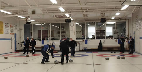 Senior Men League Curling